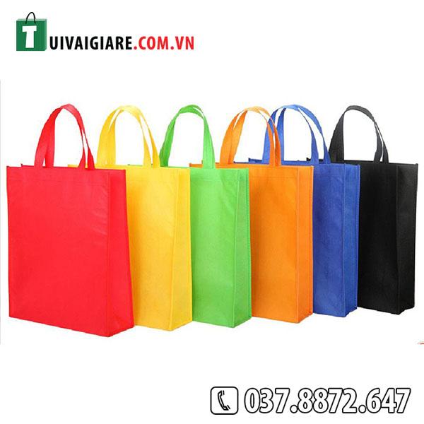 túi vải không dệt đa dạng mẫu mã màu sắc